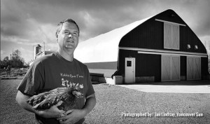 steve_with_chicken_b&w